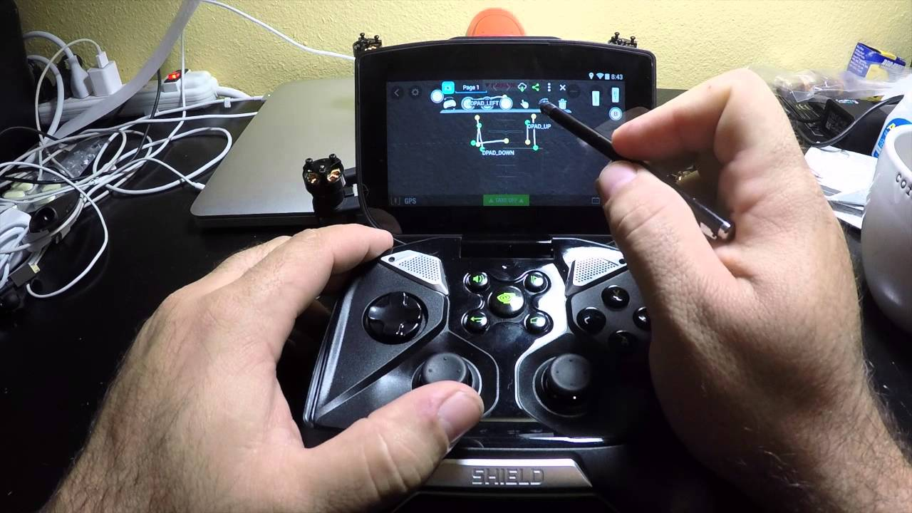 How To Map The Nvidia Shield For Parrot Bebop Drone