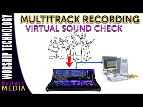 Virtual Sound Check with Live Multitrack Recording - Waves Tracks Live or Reaper