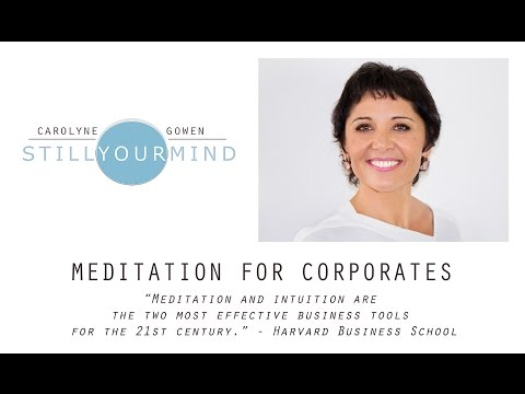 "Mindful Leadership: ""The New Corporate Paradigm"""