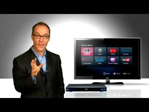 Streaming Movies from the Internet Through a Bluray Player  to Your TV