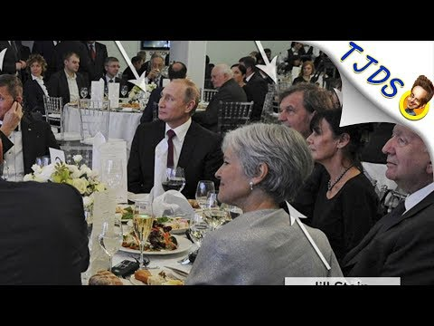 Jill Stein Explains Putin Picture Once & For All