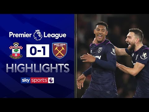 Haller ends drought in vital win | Southampton 0-1 West Ham | Premier League Highlights