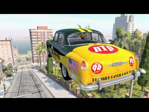 Epic High Speed Jumps #28 (West Coast) – BeamNG Drive