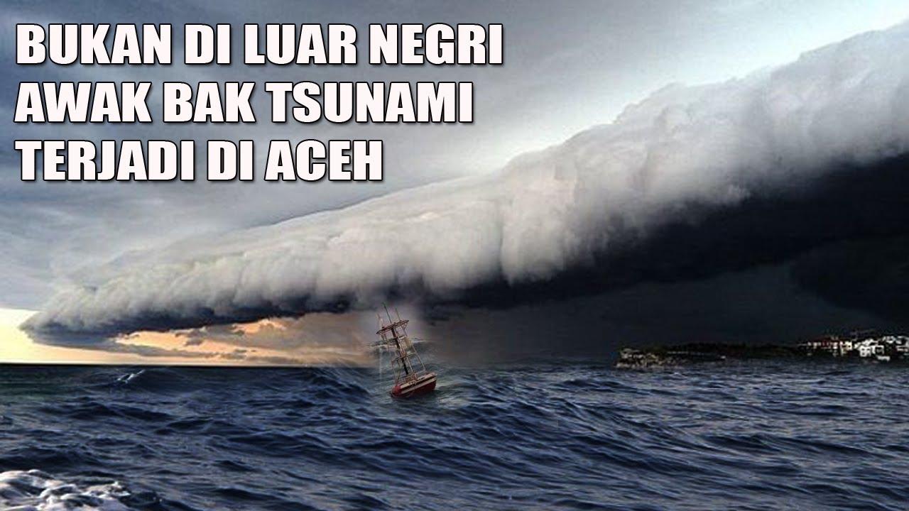 Bukan Di Luar Negeri Tapi Penampakan Awan Langka Ini Terjadi Di Aceh