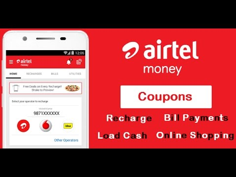 Airtel Money Coupons and Offers for Recharge, Bill Payment | How ...