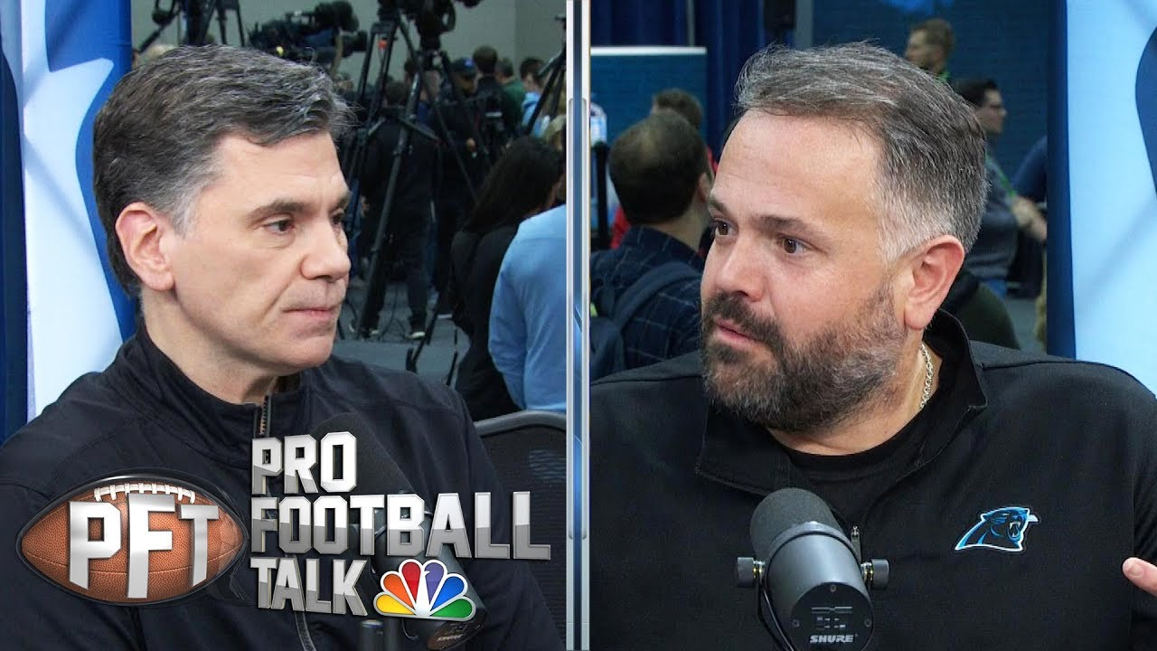 Panthers' Rhule focused on Newton's health (FULL INTERVIEW) | Pro Football Talk | NBC Spor