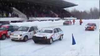Чемпионат Удмуртии зимние трековые гонки 5 01 2014