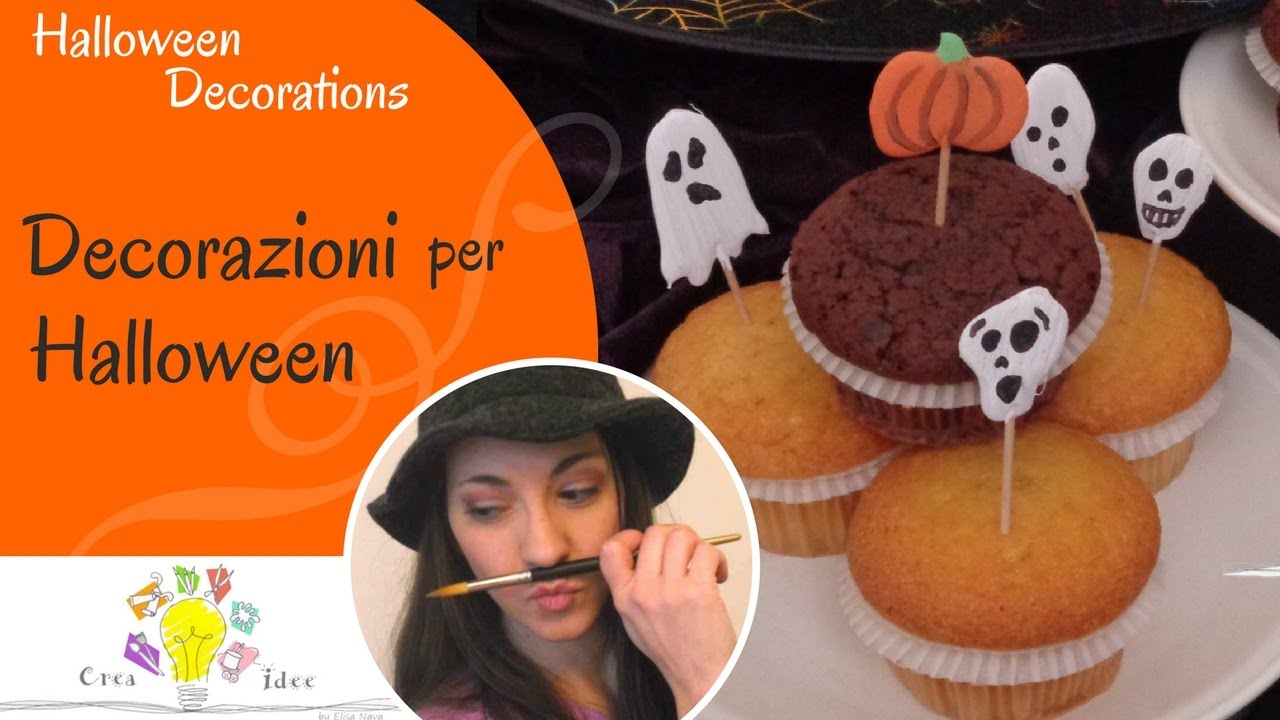 Decorazioni per Halloween - Halloween Decorations - Tutorial DIY di Creaidee 434bfaec4da7