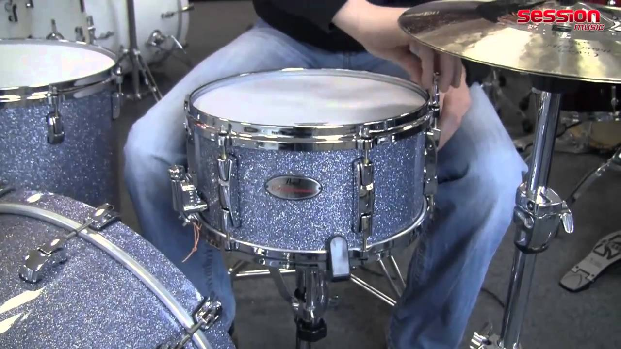 pearl rf1365 reference snare drum crystal rain youtube. Black Bedroom Furniture Sets. Home Design Ideas