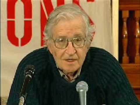 Noam Chomsky: The United States - Israel's Godfather