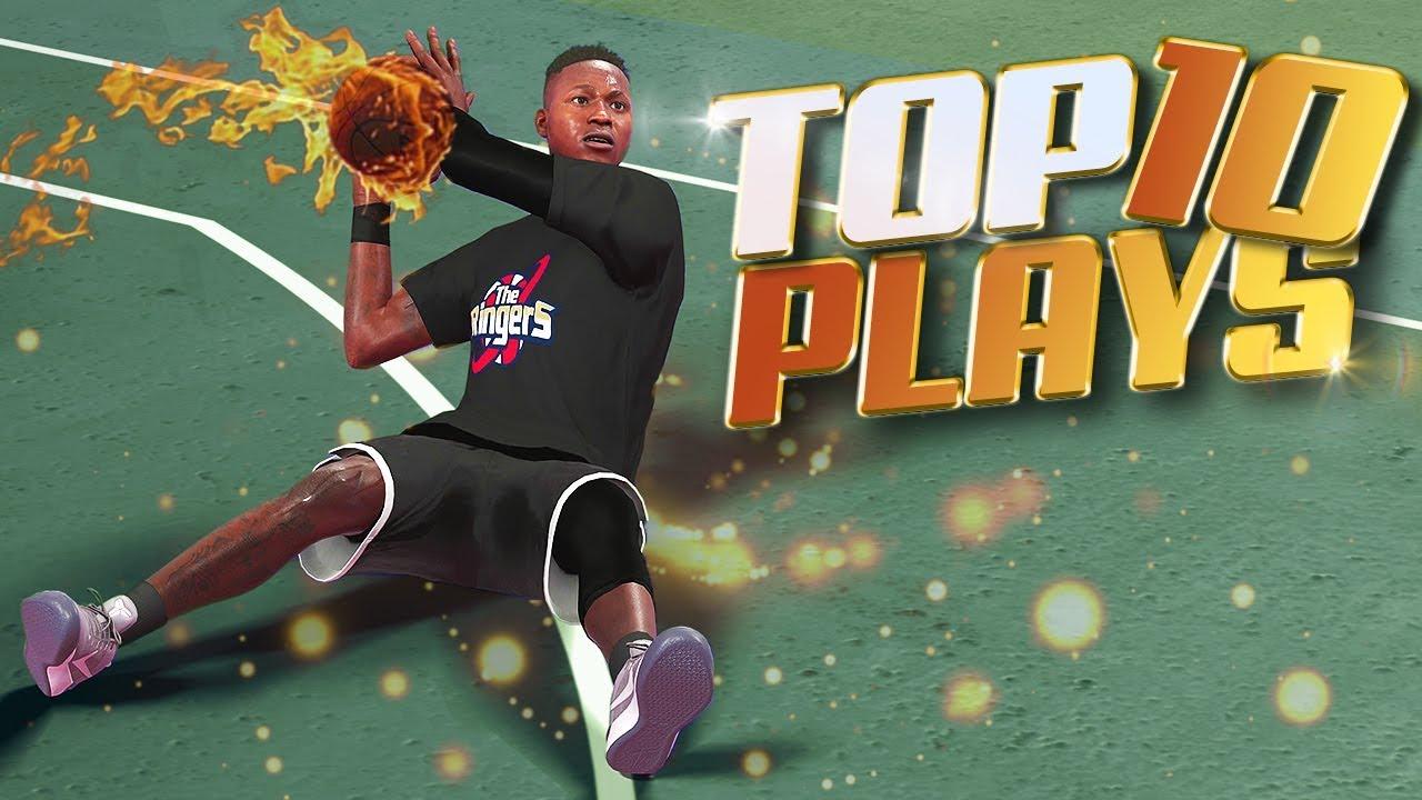 TOP 10 Plays Of The Week - NBA 2K18 Trick Shots, Putbacks, Posters & More