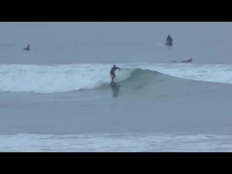 Terramar Increasing Swell January 24th, 2014 - Big Waves in Carlsbad, California