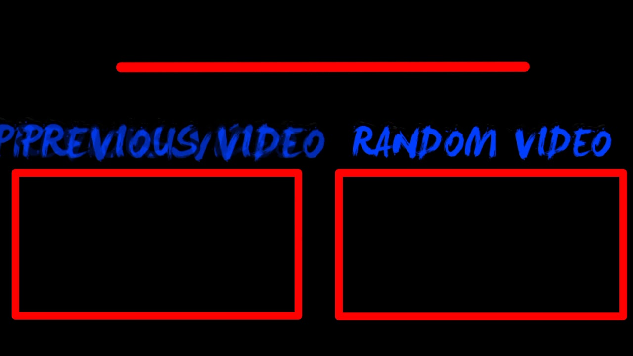 Quick Uploadawesome Red Blue And Black D Outro By Beanthetemplatemaster Free To Use