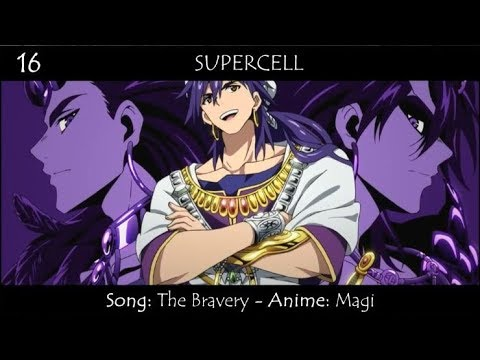 Top 50 Anime Bands/Singers