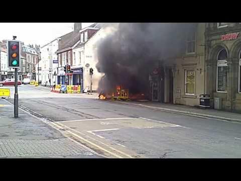 Driffield fire 18/05/13