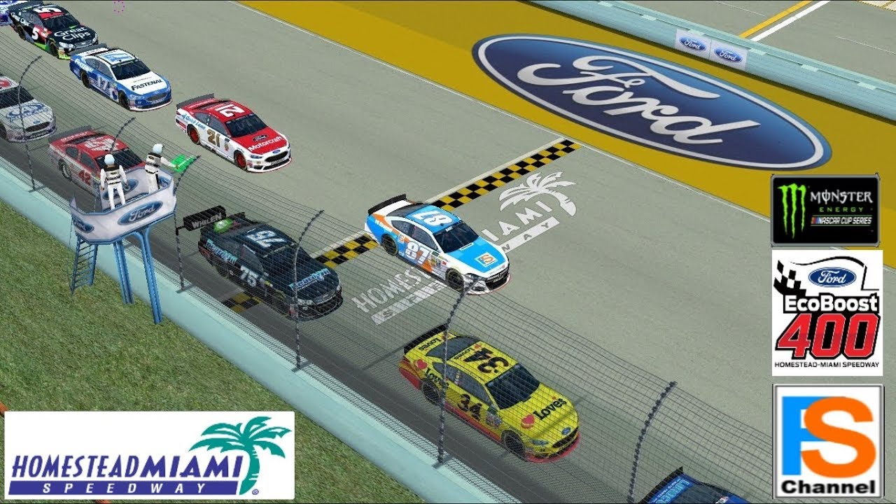 NR2003 Nascar Monster Energy Cup Series Track Homestead Miami SpeedWay