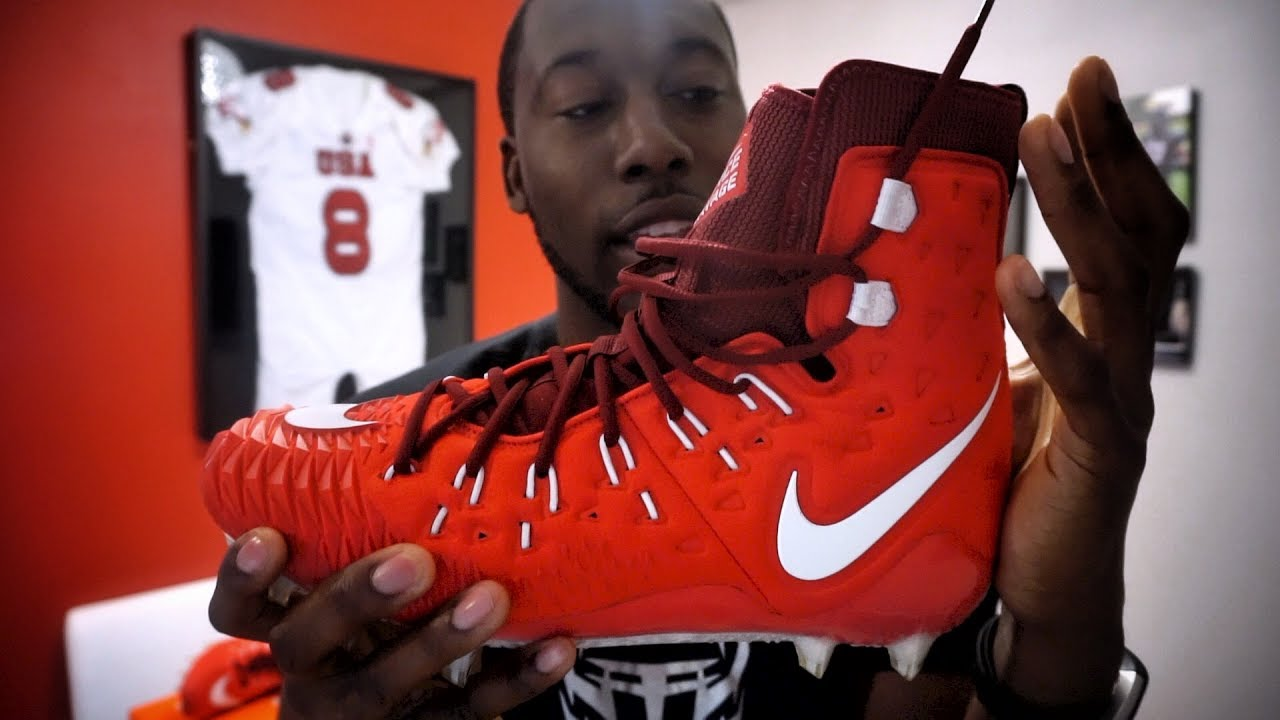 008035e939882 NIKE Zoom Force Savage Elite 🏋 Football Cleat REVIEW - Ep. 341 ...