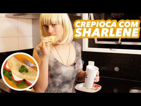 CREPIOCA - RECEITA FITNESS COM SHARLENE