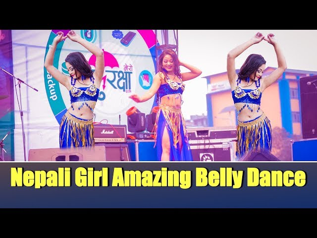 Nepali Girl Amazing Belly Dance ( Binu Sakya )