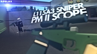 NEW L115A3 SNIPER & PM II SCOPE (Coming Soon) | ROBLOX Phantom Forces