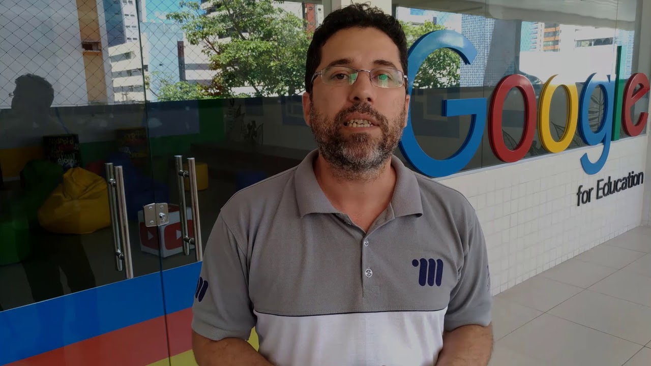 Vídeo para Certificação Google For Education - Trainer