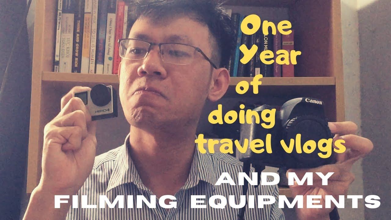 MY FILMING EQUIPMENTS AS A TRAVEL VLOGGER #Gopro #Canon #Gimbal #travel #vietnam