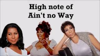 high notes battle ain t no way