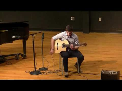 Senior Recital - Jonathan Nieto - David's Song , Jammin'
