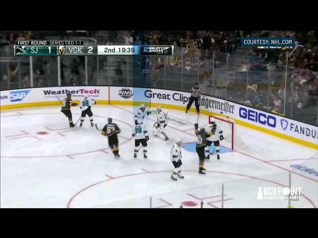 How much of the Sharks 3-1 series deficit is on Erik Karlsson?