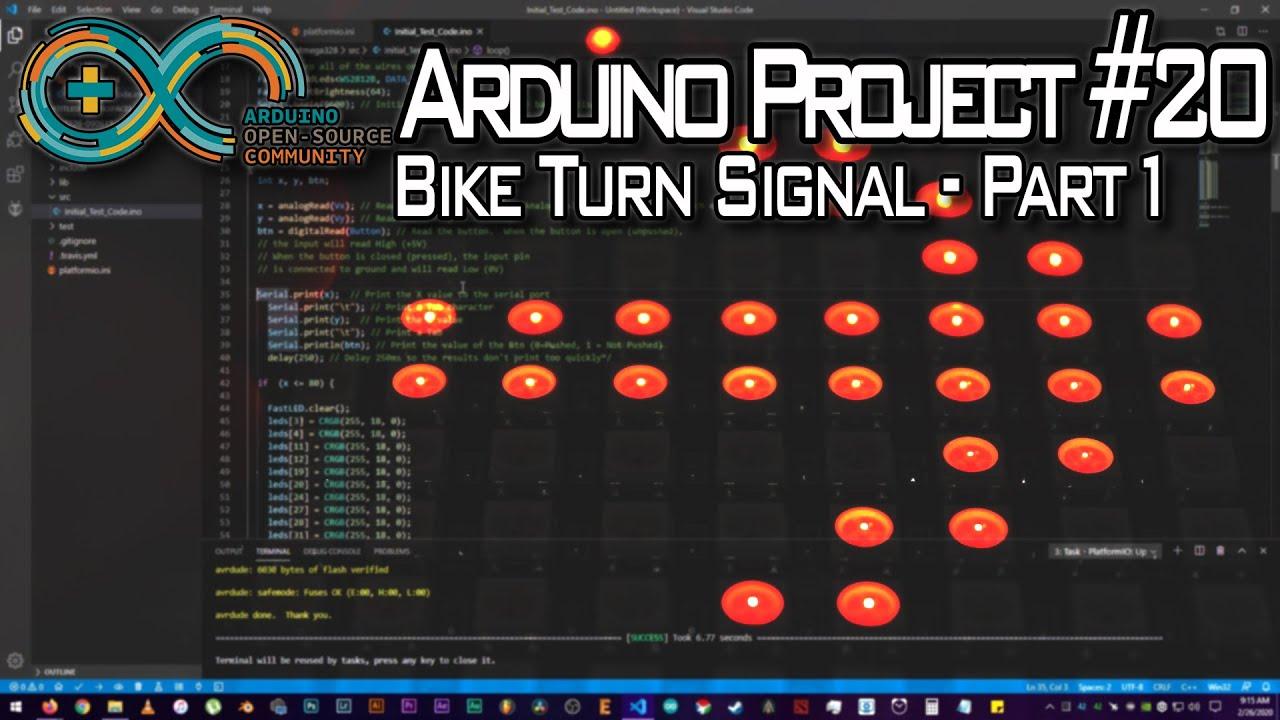 Bike Turn Signal - Part 1 - Arduino ...
