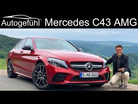 Mercedes C43 AMG CClass Facelift FULL REVIEW CClass CKlasse 2019  Autogefühl