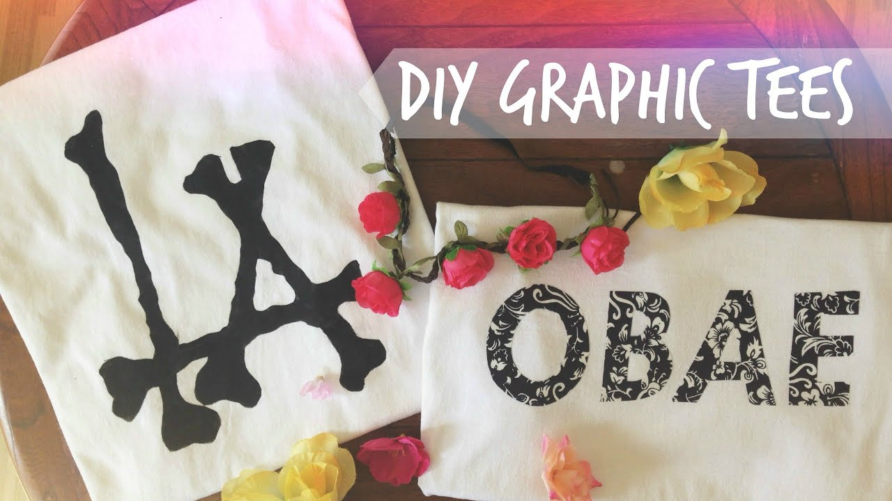 Black t shirt transfer paper - Diy Graphic Tees Without Transfer Paper