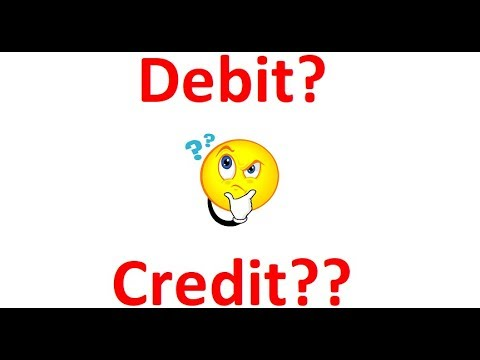 Accounting for Beginners (How to remember Debit & Credit items)