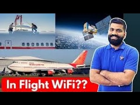 WiFi on Aeroplanes How's it Possible In Flight WiFi Explained