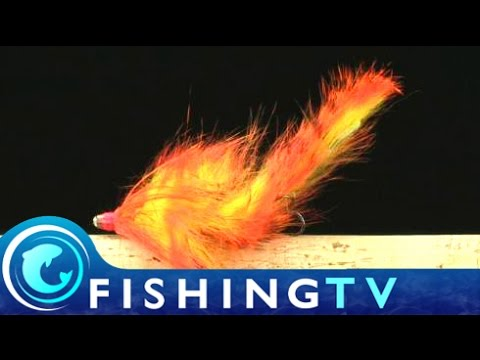 Salmon Flies: How to tie the Zonker Tube Fly - Fishing TV
