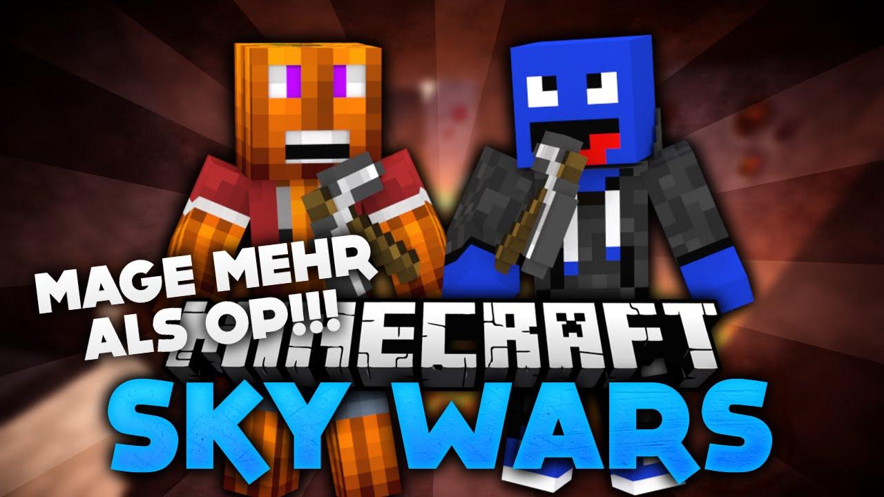 Mage Ist Mehr Als OP Minecraft SkyWars DeutschGerman YouTube - Minecraft spiele schieben