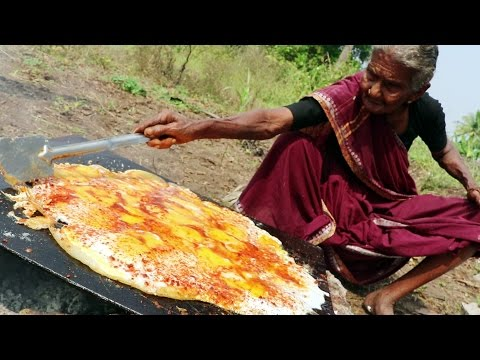 Thumbnail: Tasty Egg Dosa || King of Egg Dosa By My Grandma's Village Style || Country Foods