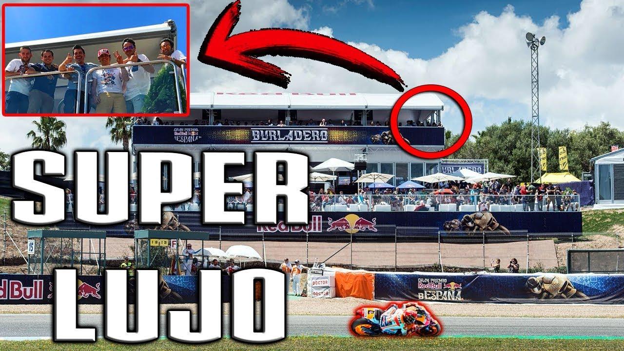 Circuito Jerez : Como es moto gp jerez desde el sitio mÁs vip del circuito youtube