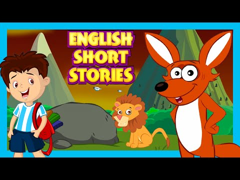 English Short Stories - The Sick Lion and The Boy Who Cried Wolf | Full English Stories