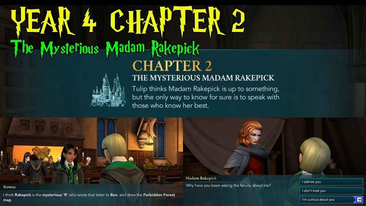 Harry Potter Hogwarts Mystery Year 4 Chapter 2 The Mysterious Madam Rakepick Youtube Hogwarts Mystery Hogwarts Mystery