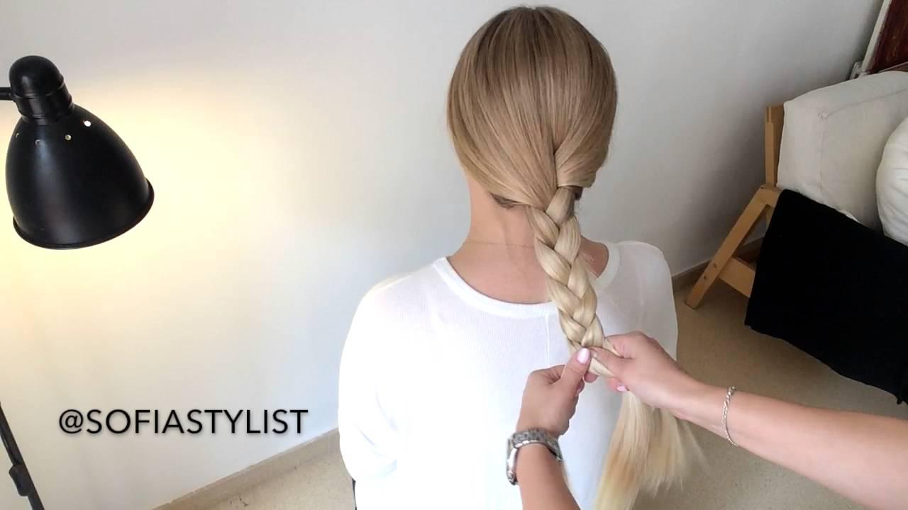 tutorial - how to do a three strand braid