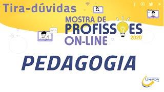 MOSTRA DE PROFISSÕES 2020   PEDAGOGIA