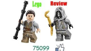 Lego Star Wars 75099 Rey's Speeder - Review