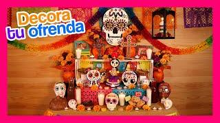 Decora tu ofrenda Mexicana para dia de muertos y significado