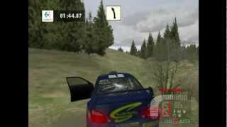 Richard Burns Rally - Gameplay PS2 HD 720P