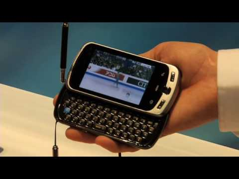 Samsung Moment (Sprint) with Mobile Digital TV - CES 2010