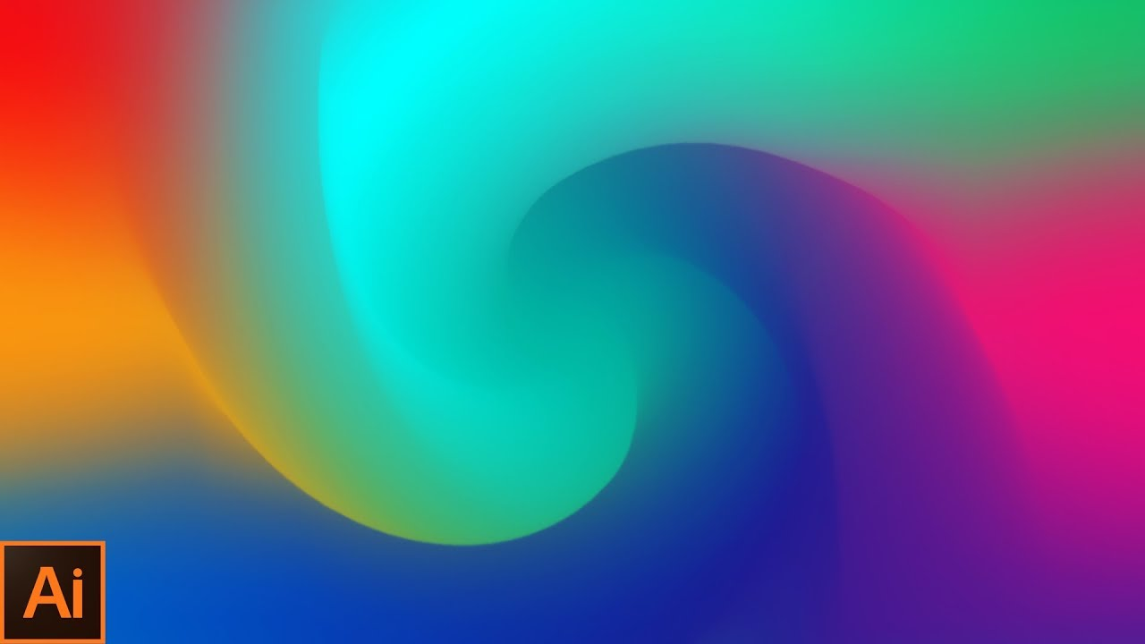 Learn Wallpaper Design In Adobe Illustrator Abstract Wallpaper Design In Adobe Illustrator Cc 2018