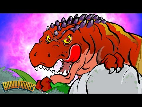 Giganotosaurus | Dinosaur Songs for Kids from Dinostory by Howdytoons | S2E02