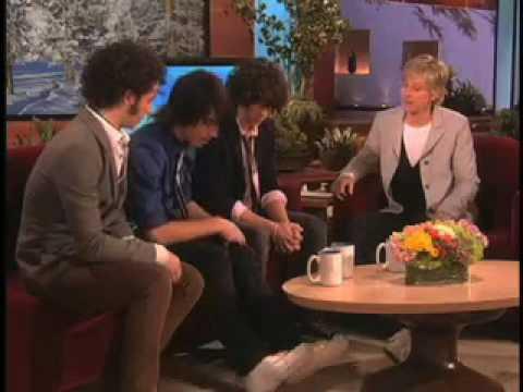 Jonas Brothers on The Ellen Degeneres Show: January 21, 2008