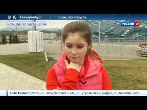 2016-02-06 - Юлия ЛИПНИЦКАЯ: Со стартом на Олимпиаде не сравнятся никакие мои выступления